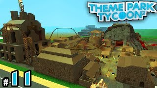 NEW Theme Park Tycoon! Ep. 11: Our Rundown Town! | Roblox