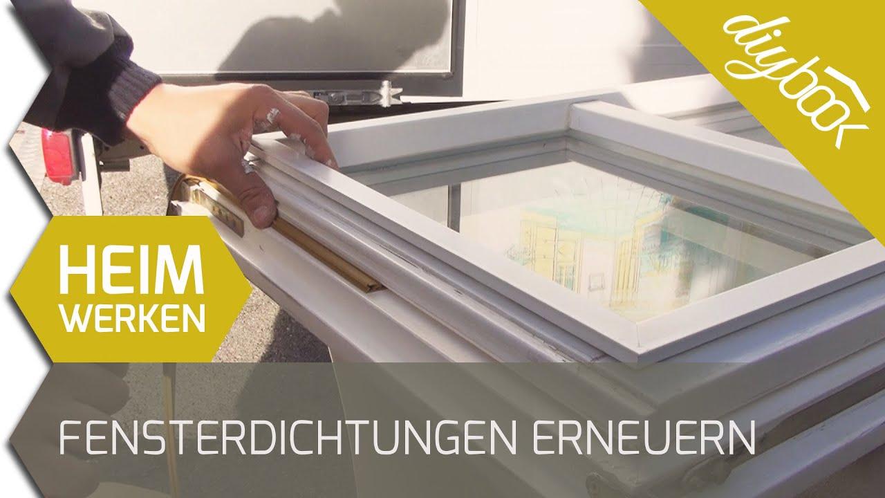 Fensterdichtungen erneuern - YouTube