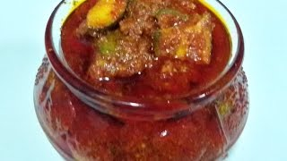 Mango Pickle Andhra Style