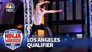 Flip Rodriguez at the Los Angeles Qualifiers - American Ninja Warrior 2017