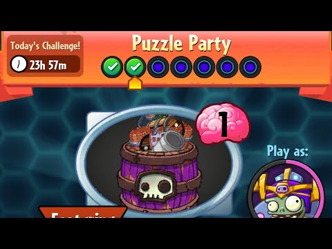 Puzzle Party | 29 November 2017 | Plants vs. Zombies Heroes