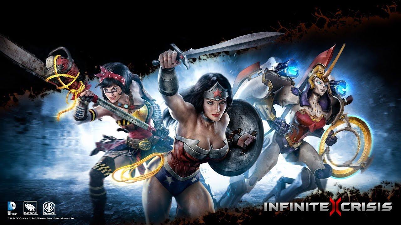 Infinite Crisis Atomic Wonder Woman Decouverte Let S Play En Fr Et