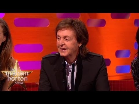 Sir Paul McCartney Meets his Action Figure - The Graham Norton Show
