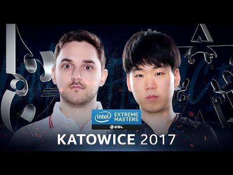 StarCraft II - ShoWTimE vs. GuMiho [PvT] - Group D - IEM Katowice 2017