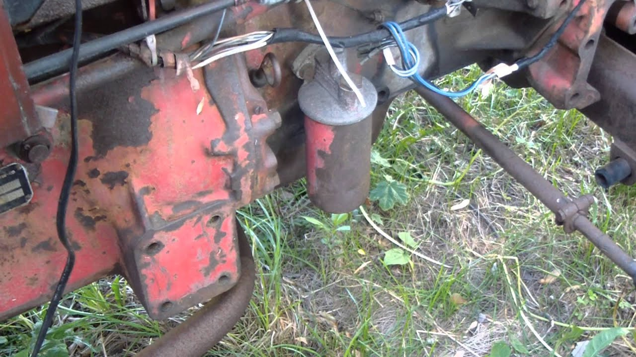 maxresdefault international b 414 tractor resurrection after 5 years youtube Oil Pump Wiring Diagram at bayanpartner.co