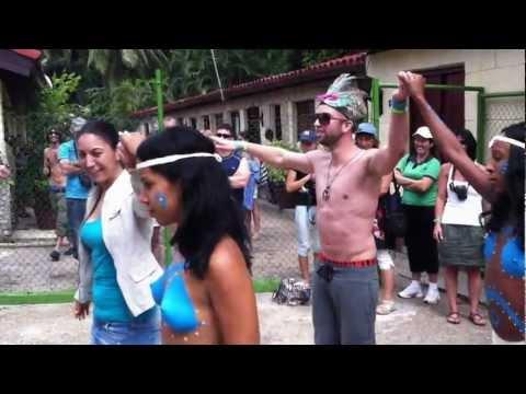 Indian Tribe in Cuba 2011 [HD]