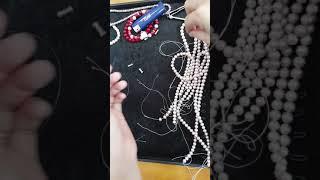 Cách xâu vòng Ngọc Trai với chốt vặn ( Siêu Thị Anh Mart Nha Trang)