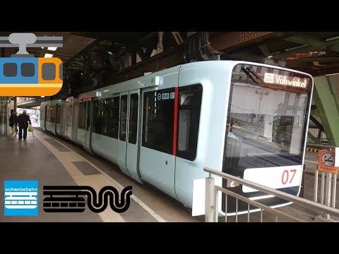 Wuppertaler Schwebebahn - FULL RIDE - Vohwinkel - Oberbarmen 2017