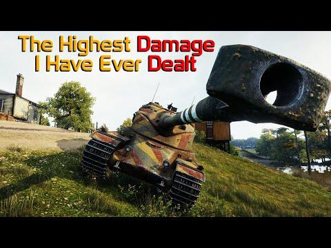 The HIGHEST DAMAGE I Have Ever Dealt in World of Tanks! thumbnail
