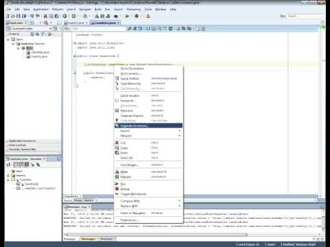 Create Simple Web Service Using Oracle JDeveloper 11.1.2.3.0 in 5 minutes