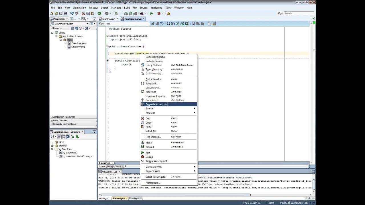 jdeveloper studio 11.1.1.2.0