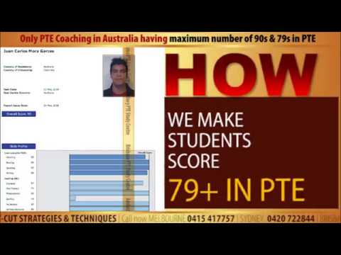We make your score 79+ in PTE | PTE Coaching Classes & Tutorials