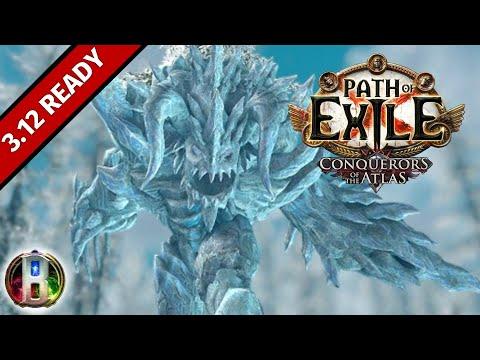 Path of Exile 3.8 - Ice Golems Golemancer Build - Necromancer Witch - Blight poe