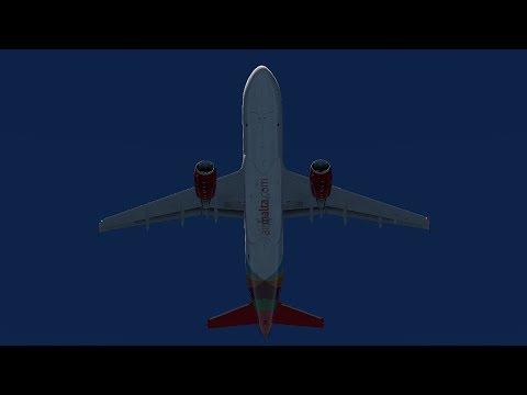 [X-Plane11]Malta(LMML)-Cyprus(LCLK)FFa320u+sound's