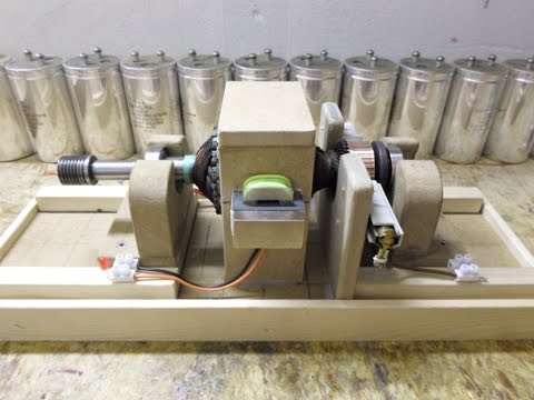 Universal Motor Rotor_Pulse Motor - Just a fun project...