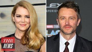 Jacinda Barrett Defends Ex-Boyfriend Chris Hardwick Amid Misconduct Scandal | THR News