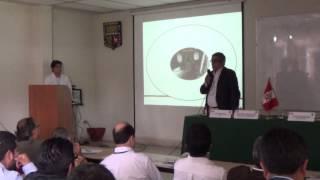 Uno de los espacios del Ingeniero Agrícola en el Perú, conferencia del Ing. David  Cárdenas León.
