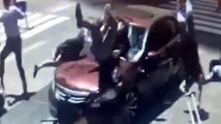 Graphic Video Footage! Maniac Driver, Richard Rojas Plowing his Car into Pedestrians in Time Square