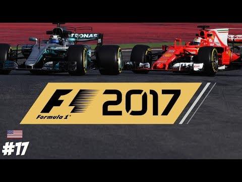 F1 2017 COOP 👥 // R17: USA GP // FERRARI vs MERCEDES with AMG // #17