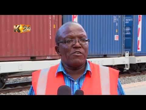 SGR freight train to kick off its operation from Mombasa