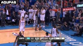 Curry game wining 3 vs Thunder