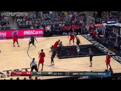 Chicago Bulls vs San Antonio Spurs | Full Game Highlights | December 25, 2016 | 2016-17 NBA Season