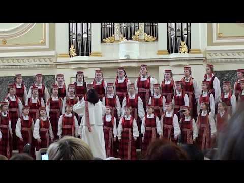 Детский хор «Лиелварде» - полуфинал V ДЮХЧМ
