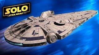 han solo movie exciting new details about the millennium falcon revealed solo a star wars story