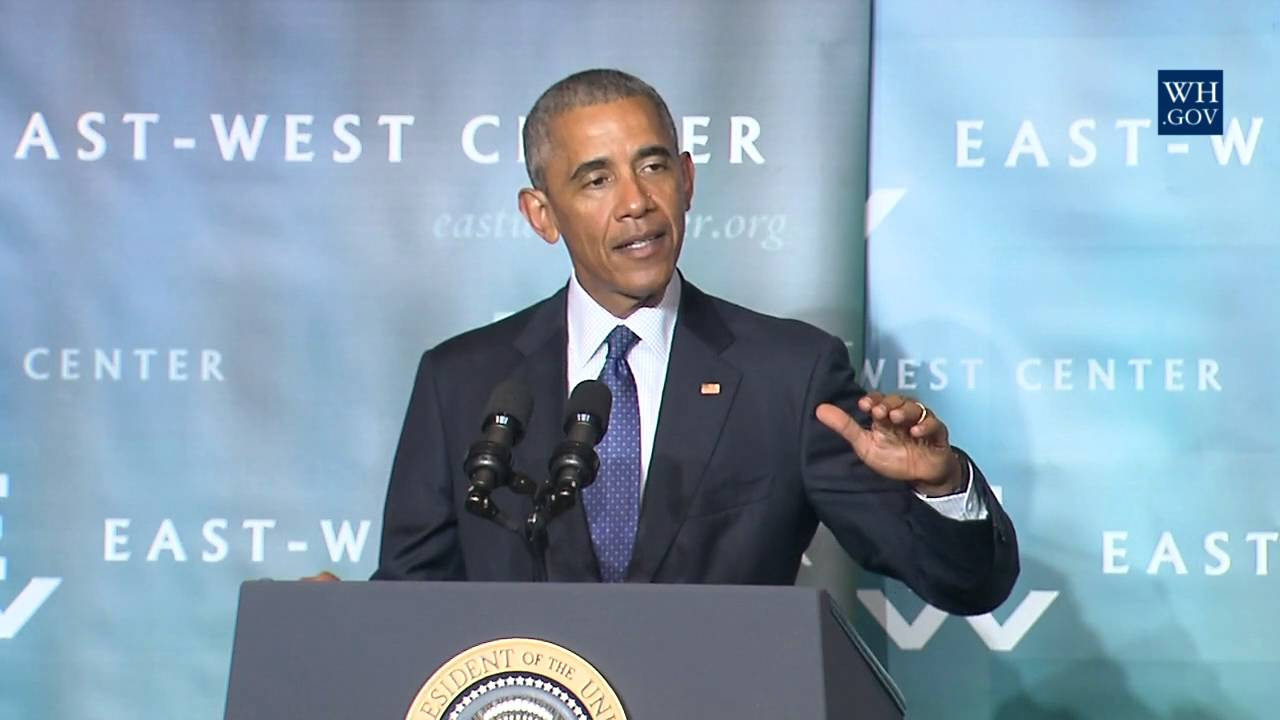 obama in hawaii full speech on climate change youtube