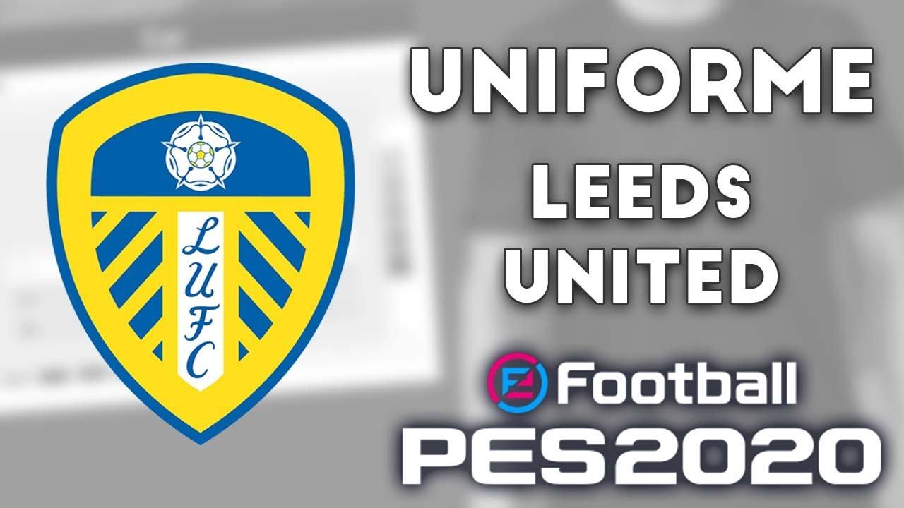 PES 2020 - Uniformes/kits Leeds United (19-20) Xbox