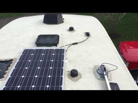 Jayco Solar Install - YouTube