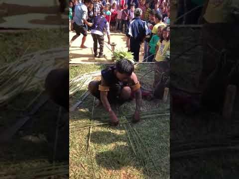 Chanting Song of Basket Weaving : Lotha Naga Tribe