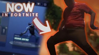 Orange Kid Fortnite Dance (Season 4) Battle pass (roy purdy's dance)