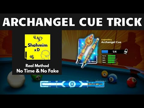 Archangel Cue Trick 2020 - 100% Opening - Real Method In 8 Ball Pool