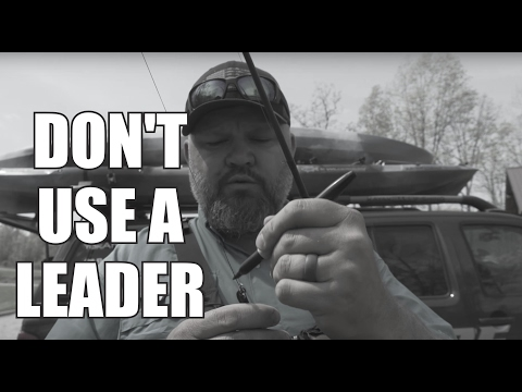 When I Don't Use A Leader   JUST THE TIP   Kayak Bass Fishing