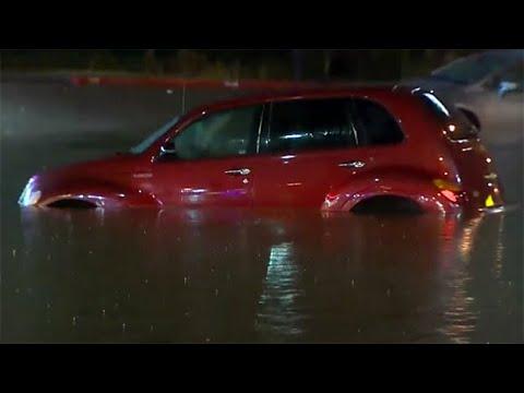 Torrential Rains Bring Flooding To Houston Area