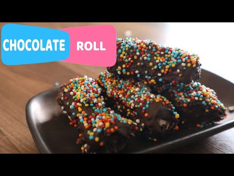 Chocolate Roll Recipe | Children's Day Special Recipe for kids | Party Food Idea by Shree's Recipes