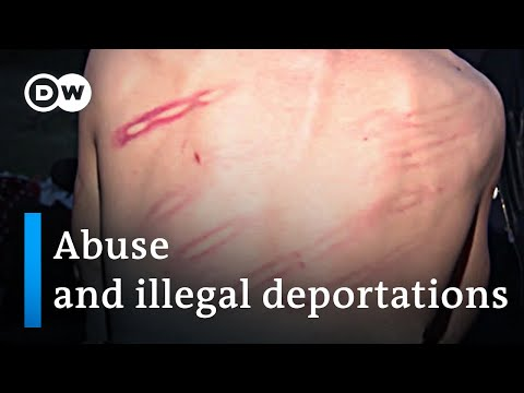 New evidence for illegal deportations and refugee abuse in Greece | DW News