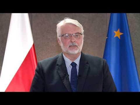 Minister Witold Waszczykowski o wprowadzeniu ruchu bezwizowego z Ukrainą