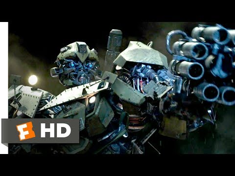Transformers: The Last Knight (2017) - Bumblebee Hates Nazis Scene (4/10)   Movieclips