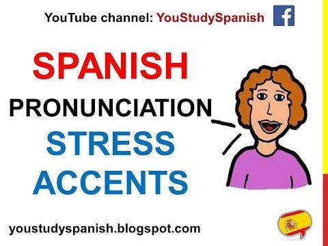 Reglas para los acents de Español/ Rules for Spanish ...  |Spanish Accents Rules