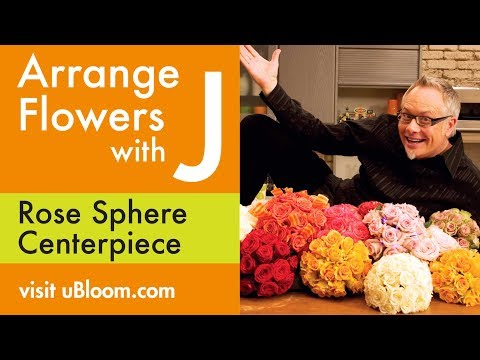 How to create a Rose Sphere Centerpiece