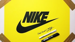 Nike Commercial Drawing by Denis