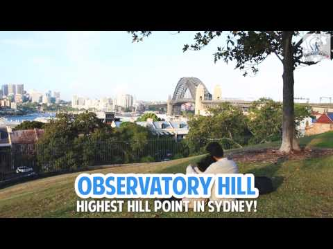 Sydney Observatory - The Highest Hill Point in Sydney!