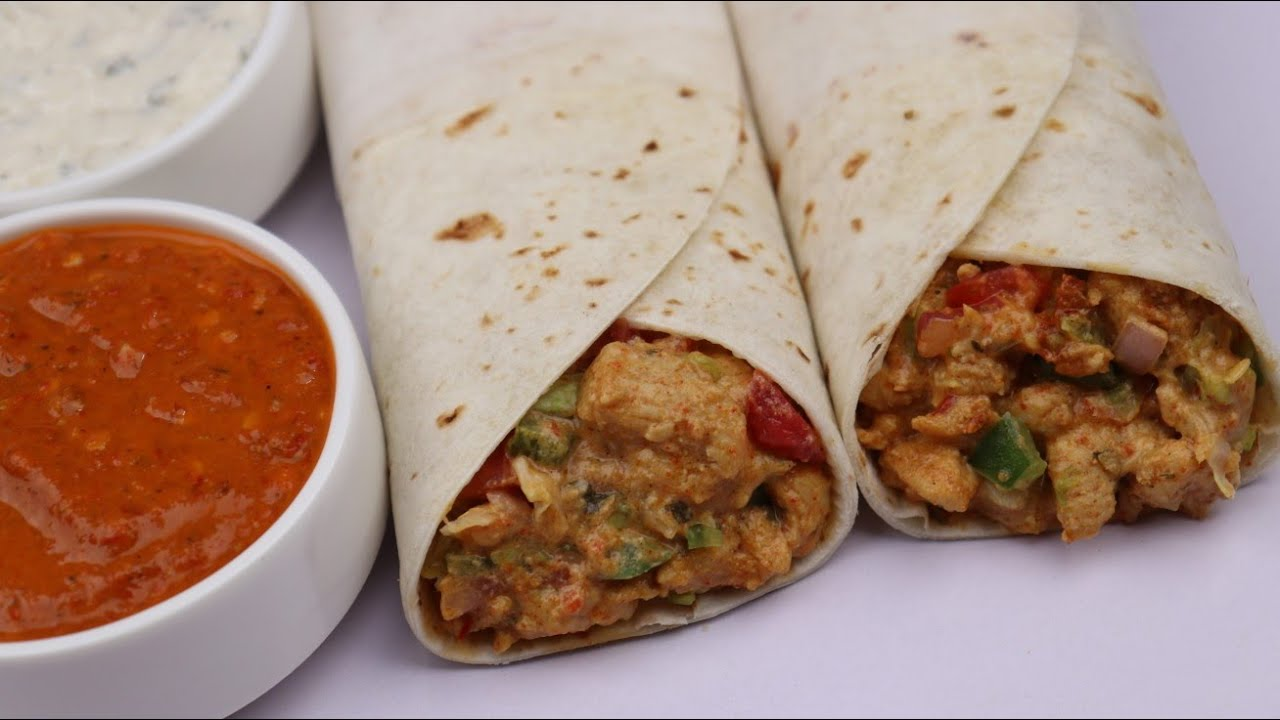 Mexican Chicken Shawarma By Recipes Of The World