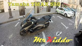test riding the yamaha tmax 530   the ultimate scooter?