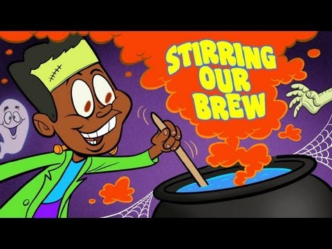 Halloween Songs for Children -- Stirring Our Brew -- Halloween kids song by The Learning Station