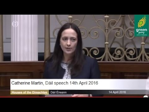 Dáil Speech, 14 April 2016