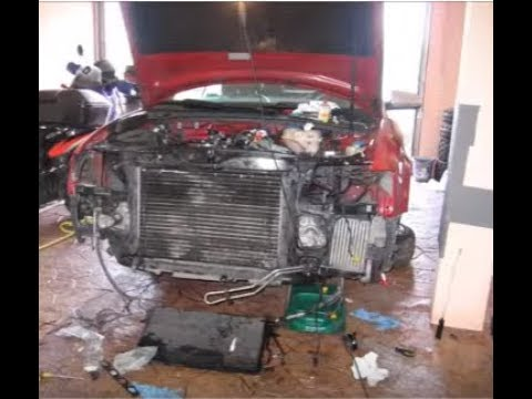 Audi A4 1.8t. How to remove front.(Part 2 of 2)
