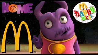 McDONALDS KIDS HAPPY MEAL 7 th OH ! DREAMWORKS HOME FILM SURPRISE TOY OPENING